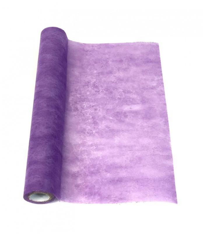 Chemin De Table Intisse Parme Eco Couleur Violet
